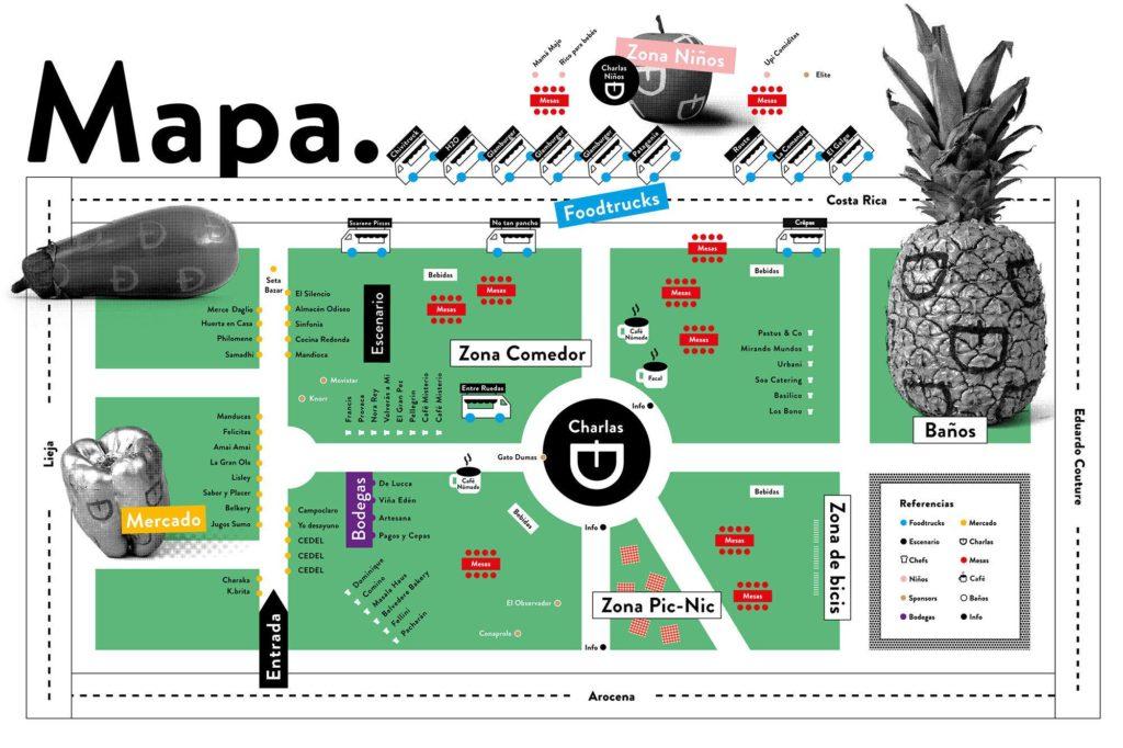 mapa festival degusto foodtrucks